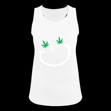 Marijuana hemp potheads cannabis gift - Women's Breathable Tank Top