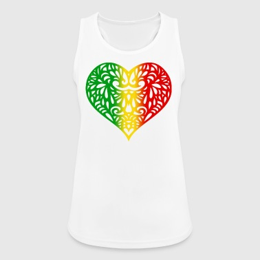 Rasta Love - Women's Breathable Tank Top