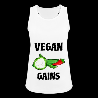 Vegan Gains | Fitness | Vegan Style - Women's Breathable Tank Top