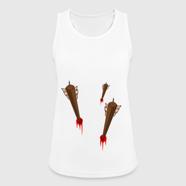 Arrow in chest - Women's Breathable Tank Top