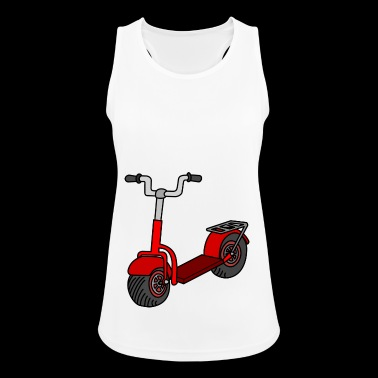 Kick scooter - Pustende singlet for kvinner