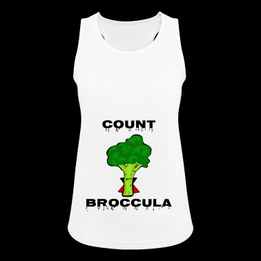 Count Broccula - Women's Breathable Tank Top