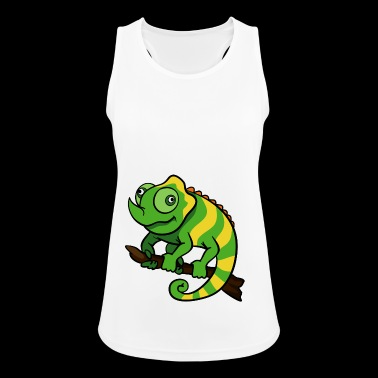 Chameleon reptiles - Women's Breathable Tank Top