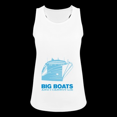 Boats Cruise Captain Cruise Ship Gift - Women's Breathable Tank Top