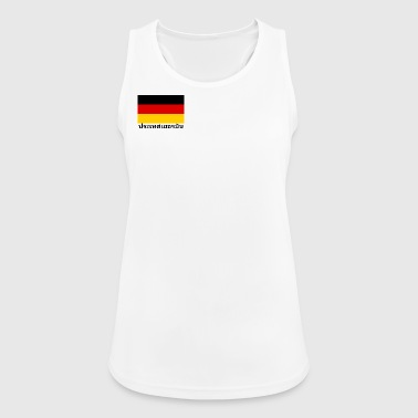Germany in Thai - Women's Breathable Tank Top