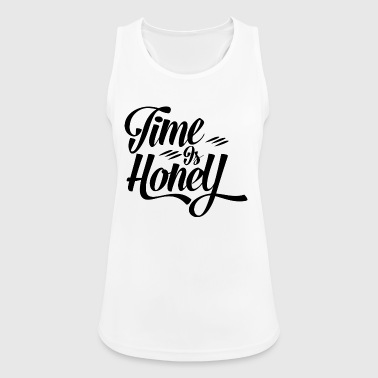 Time is Hony Alternative way of life to consumption - Women's Breathable Tank Top