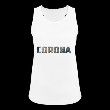 Solar System Planet Earth Corona Gift - Women's Breathable Tank Top