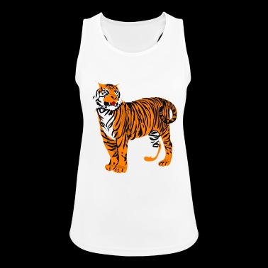 tiger - Women's Breathable Tank Top