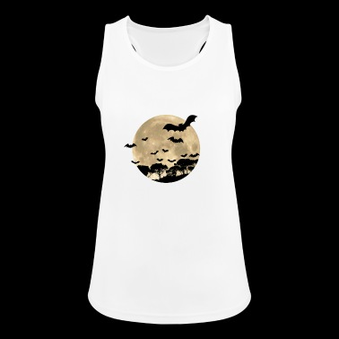 full moon - Women's Breathable Tank Top