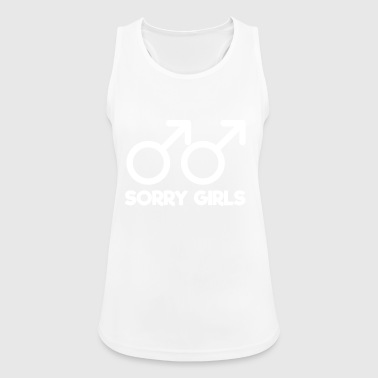 Gay Sorry Girls - gay - gay - Pustende singlet for kvinner