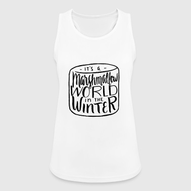 Christmas Candy Marshmallow Gift Advent - Women's Breathable Tank Top