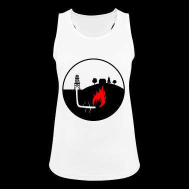 Oil production - Women's Breathable Tank Top