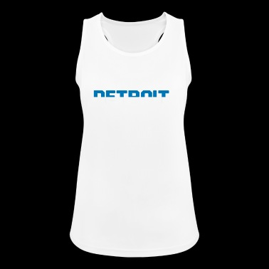 Detroit football - Women's Breathable Tank Top