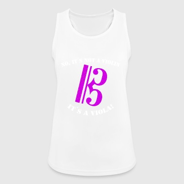 Violin viola - Women's Breathable Tank Top