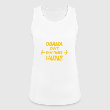 obama - Frauen Tank Top atmungsaktiv
