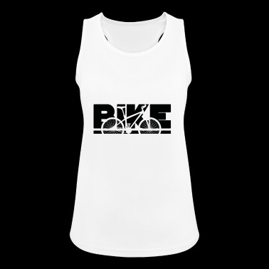 bike, bike, mountain bike - Women's Breathable Tank Top
