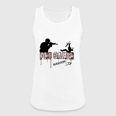 Pro Gamer Shooter - Women's Breathable Tank Top