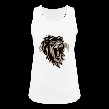Lion lion head gift - Women's Breathable Tank Top