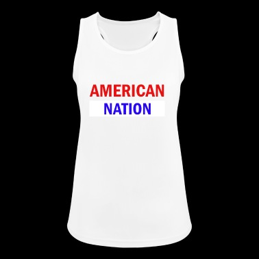 American nation - Women's Breathable Tank Top