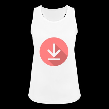 Download icon, download icon - Women's Breathable Tank Top