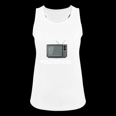 Oldschool TV - Women's Breathable Tank Top