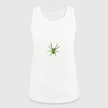 Spider on the web - Women's Breathable Tank Top
