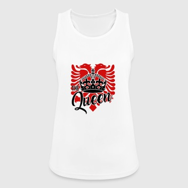 Albanian eagle for an albanian queen - Women's Breathable Tank Top
