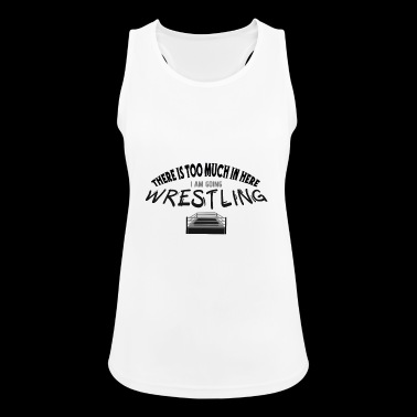 Wrestling! - Women's Breathable Tank Top