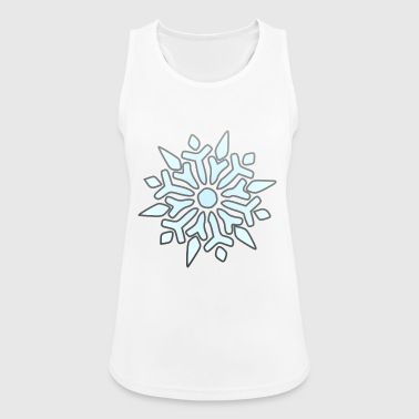 snowflake - Women's Breathable Tank Top