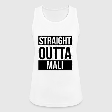 Straight Outta Straight Outta Mali! | Best country - Women's Breathable Tank Top