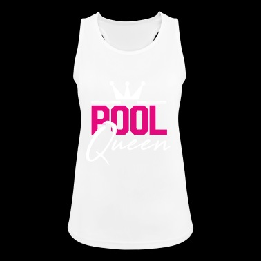 Pool Queen Pool Billiard Gift - Women's Breathable Tank Top