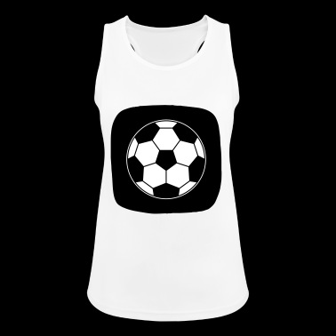 Icon Football Ball Sport Ball Sports - Women's Breathable Tank Top