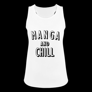 Manga and Chill - Women's Breathable Tank Top