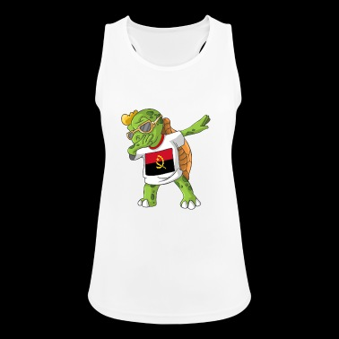 Angola Dabbing turtle - Women's Breathable Tank Top