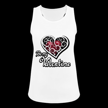 Valentine's Day Be my Valentine - Women's Breathable Tank Top