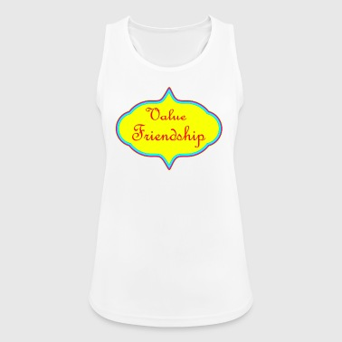 Value Friendship - Women's Breathable Tank Top