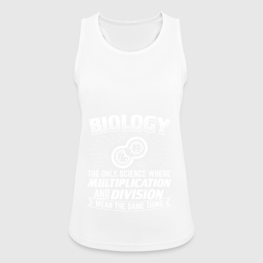 Funny Biology Shirt Biology - Women's Breathable Tank Top