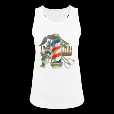 Cool Barber Tools. Gifts for Barber, Stylist Salon - Women's Breathable Tank Top