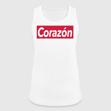 Corazon - heart - Women's Breathable Tank Top