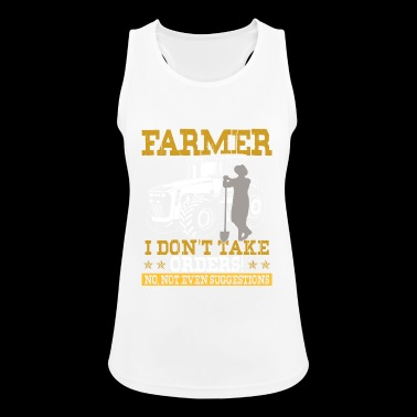 Farmer Shirt · Agriculture · no orders - Women's Breathable Tank Top