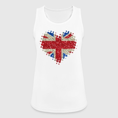 I Love Great Britain - England Union Jack - Women's Breathable Tank Top