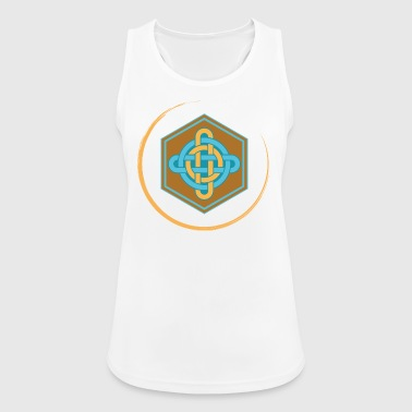 Celtic knot hammer color - Women's Breathable Tank Top