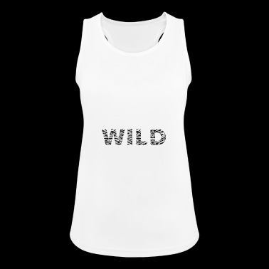 be WILD - Women's Breathable Tank Top