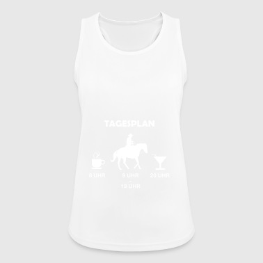 Daily schedule Western riding - Women's Breathable Tank Top