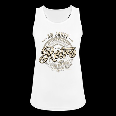 Retro 40 years top quality Almost as new - Women's Breathable Tank Top