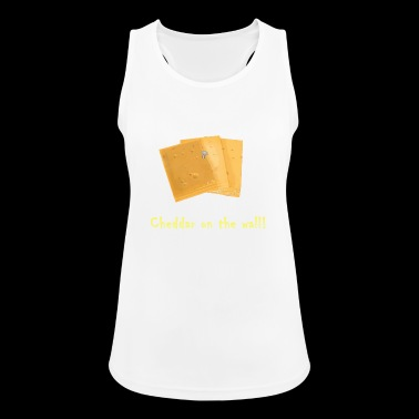 Cheddar on the wall - Women's Breathable Tank Top