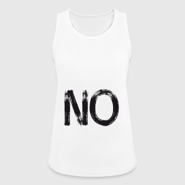 no anti demo Motto streetart versus statement lol - Women's Breathable Tank Top
