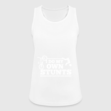 Cyclists do their own stunts - Women's Breathable Tank Top