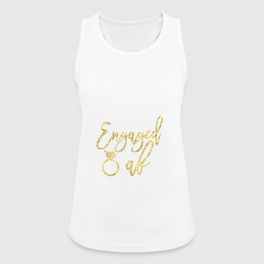 Engaged Af - Women's Breathable Tank Top