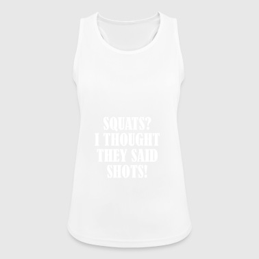 Squats Shots - Women's Breathable Tank Top